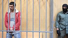 Подозреваемый в подготовке теракта в Москве Муродбек Кодиров перед заседанием в Мещанском суде Москвы