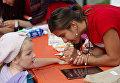 Урок мира в Детском хосписе в Санкт-Петербурге