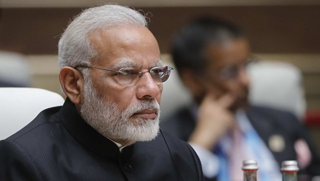 Премьер-министр Республики Индии Нарендра Моди. Архивное фото