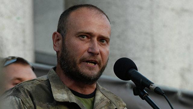 Лидер организации Правый сектор Дмитрий Ярош. Архивное фото