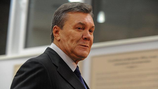 Суд в Киеве продолжил заседание по делу Януковича о госизмене