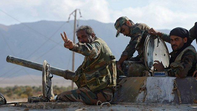 Деблокада Дейр-эз-Зора иосвобождение Акербата— Успехи сирийской армии