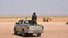 Сирийские военные в окрестностях Дейр-эз-Зора. 4 сентября 2017