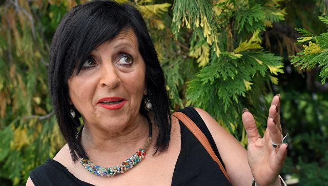 Испанка Пилар Абель, добившаяся эксгумации тела Сальвадора Дали. 27 июня 2017
