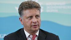 Министр транспорта РФ Максим Соколов на Восточном экономическом форуме