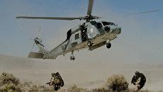 Американский военный вертолет. Архивное фото