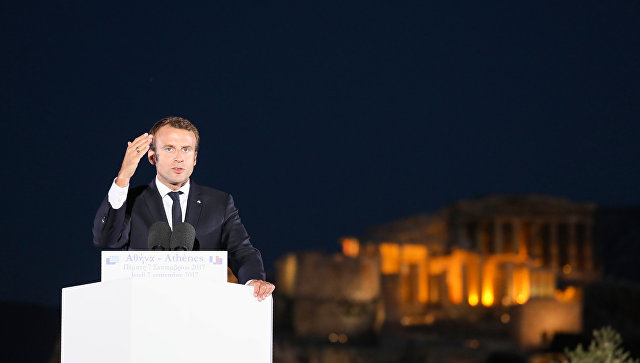 Макрон объявил онеобходимости «перезагрузки» европейского союза