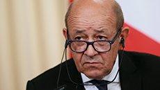Глава МИД Франции Ж.-И. Ле Дриан. Архивное фото