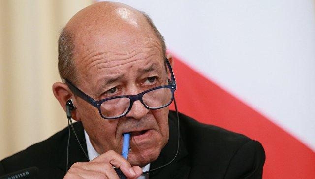 МИД Франции рассчитывает убедить США сохранить договор с Ираном по ядерной программе