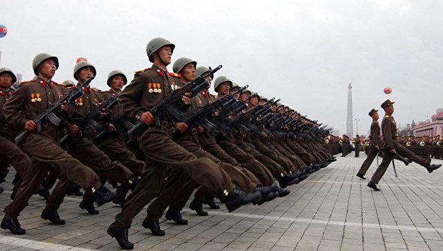 Северокорейские военнослужащие. Архивное фото