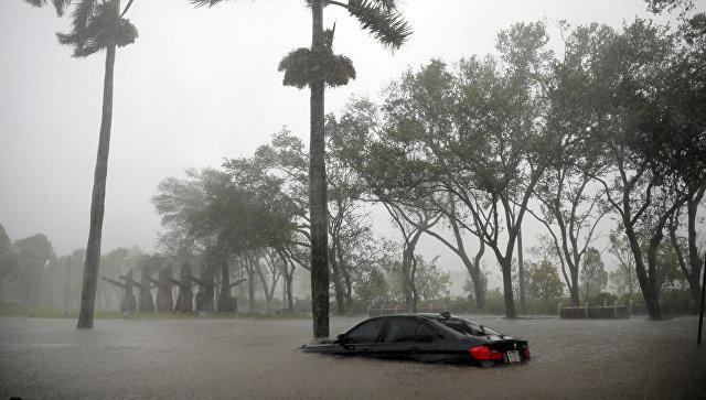 Ураган Ирма во Флориде. 10 сентября 2017 года