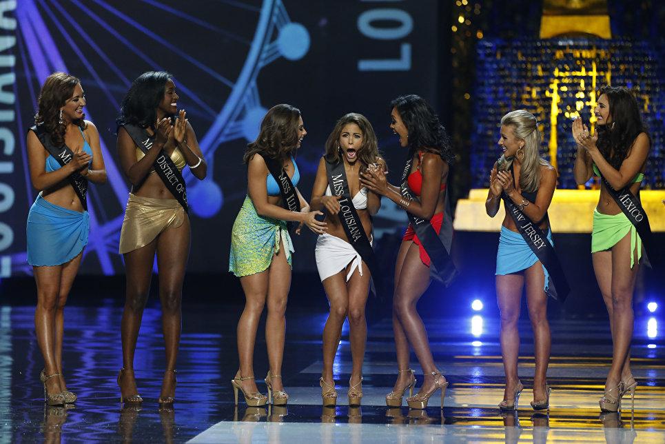 Участницы конкурса красоты Мисс Америка