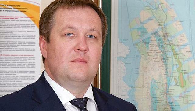 Генеральный директор ООО «РН-Сахалинморнефтегаз» Андрей Бардин. Архив