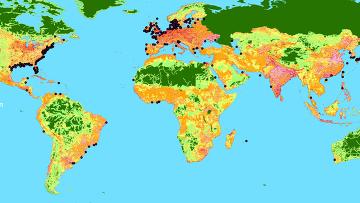 Прибрежные зоны с пониженным содержанием кислорода