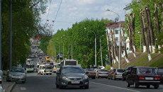 Проспект Ленина в Томске. Архивное фото