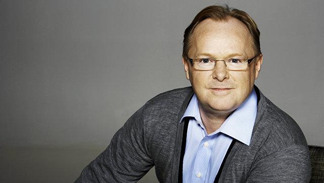 Министр рыбного хозяйства Норвегии Пер Сандберг
