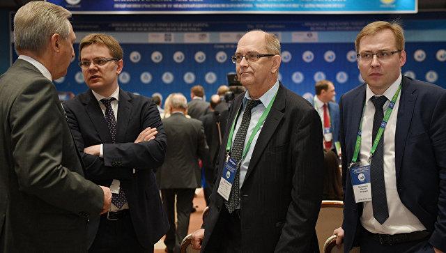Участники на XV Международном банковском форуме Банки России – XXI век в Сочи. 14 сентября 2017