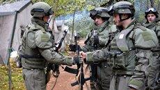 Военнослужащие вооруженных сил России. Архивное фото