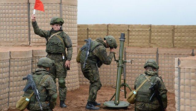 В Абхазии российские военные приступили к боевым стрельбам из минометов