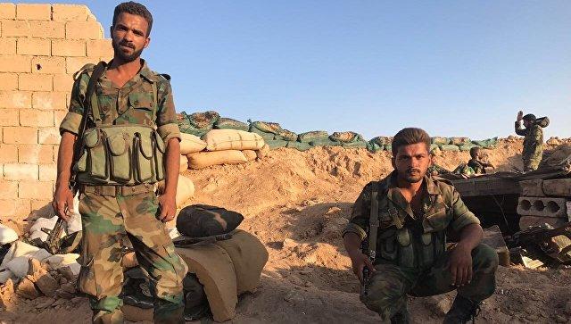 Боевики сдались сирийским военным вДейр-эз-Зоре