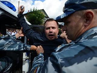 Глава московского штаба Алексея Навального Николай Ляскин. Архивное фото