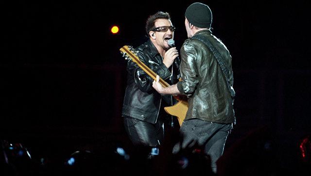 Рок-группа U2. Архивное фото