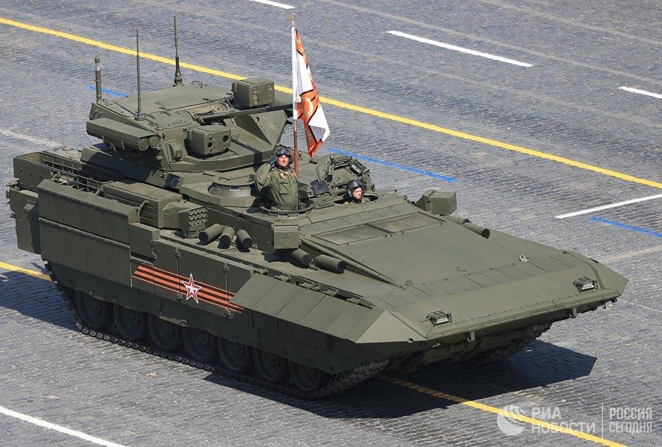 Боевая машина пехоты (БМП) на гусеничной платформе Армата