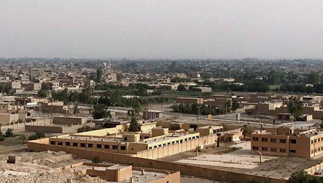 Район Джафра в Дейр-эз-Зоре во время наступления сирийской армии и бойцов народного ополчения, 20 сентября