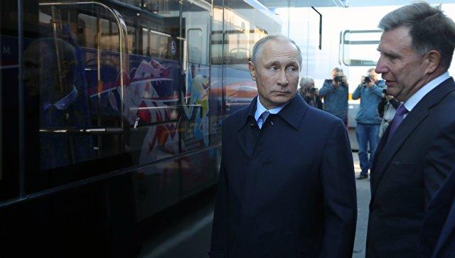 Владимир Путин раскритиковал компанию публичных перевозок в областях