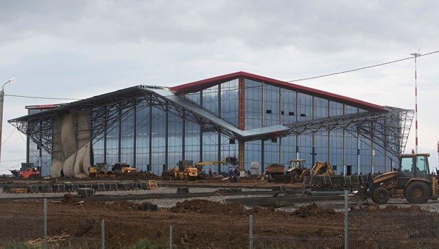 Новое здание международного аэропорта в Саранске. Архивное фото