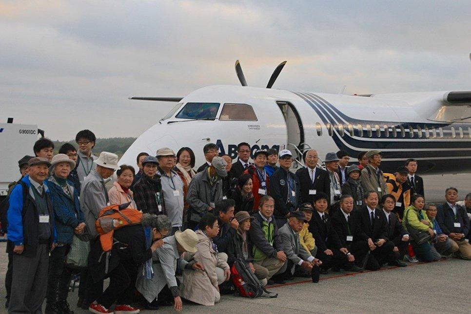 1-ый чартерный рейс изЯпонии наКурилы задуман на23сентября