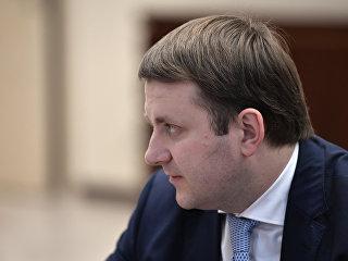 Министр экономического развития РФ Максим Орешкин во время встречи с президентом РФ Владимиром Путиным. 23 сентября 2017