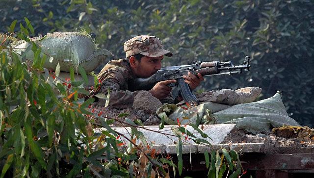 Пакистанский военный. Архивное фото