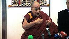 Далай-лама в рижском зале Сконто. 23 сентября 2017