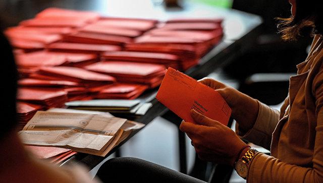 Стали известны первые результаты выборов вГермании
