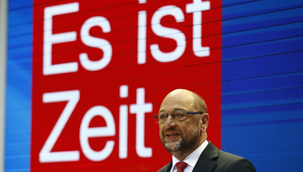 Шульц уверен вуспехе создания коалиции «ямайка» изтрех партий вгермании