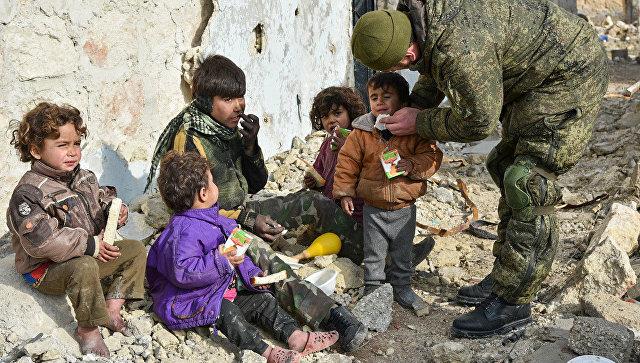 Позиции ИГ* в Сирии, пораженные ВКС РФ, были вне населенных пунктов