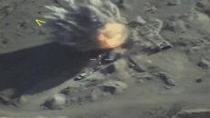 Минобороны опубликовало видео авиаударов по Джебхат-ан-Нусре* в Идлибе