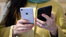 Cмартфоны iPhone 8 и iPhone 8 Plus. Архивное фото