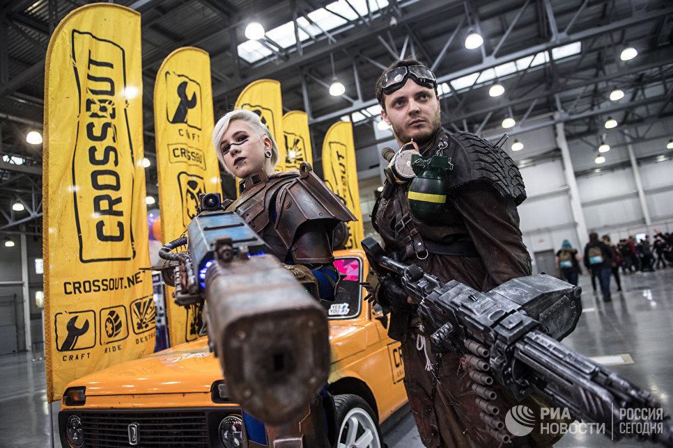 На выставке ИгроМир-2017 и фестивале Comic Con Russia — 2017 в Москве