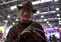 Косплеер на выставке ИгроМир-2017 и фестивале Comic Con Russia — 2017 в Москве