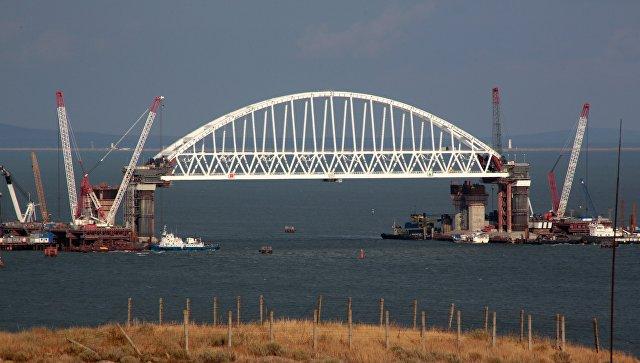 Донской: Строительство Крымского моста оказывает минимальное воздействие наэкологию