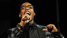 Американский хип-хоп артист B.o.B. Архивное фото