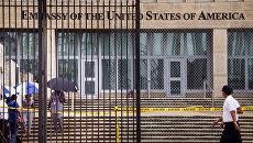 Посольство США в Гаване, Куба. Архивное фото