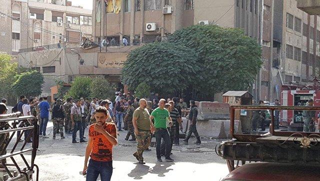 При обстреле центра Дамаска погибли два человека