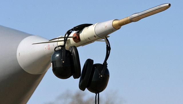 Приемник воздушного давления (ПВД) сверхзвукового всепогодного истребителя-перехватчика дальнего радиуса действия МиГ-31. Архивное фото
