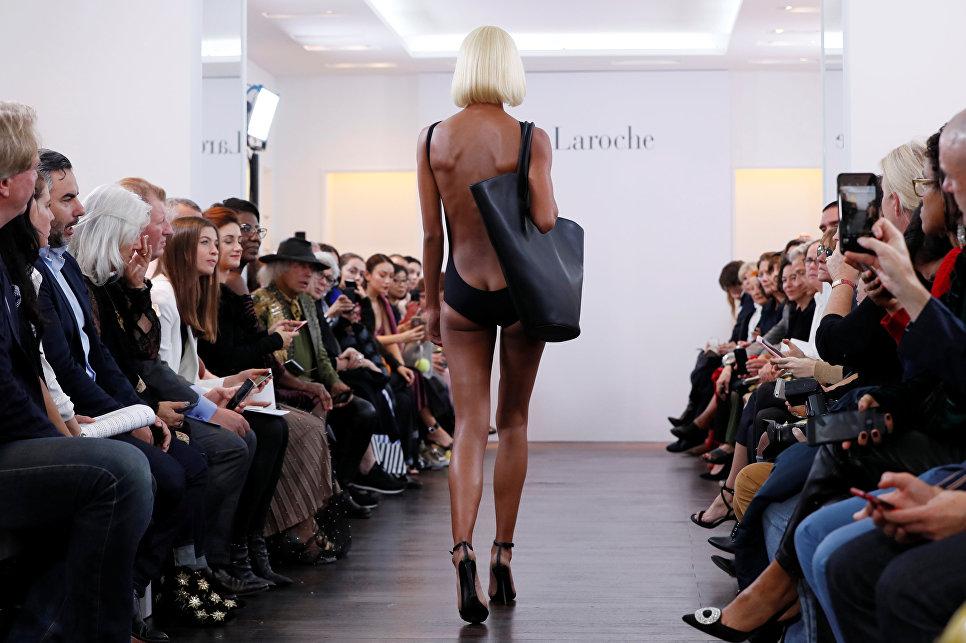 Показ коллекции Richard Rene в рамках Недели моды в Париже