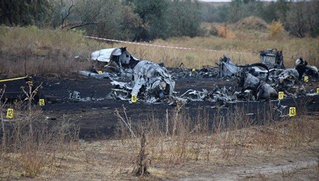 Наместе крушения самолета под Алма-Атой отыскали «черные ящики»