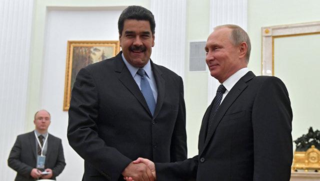 Путин и Мадуро обсудят укрепление экономической независимости Венесуэлы