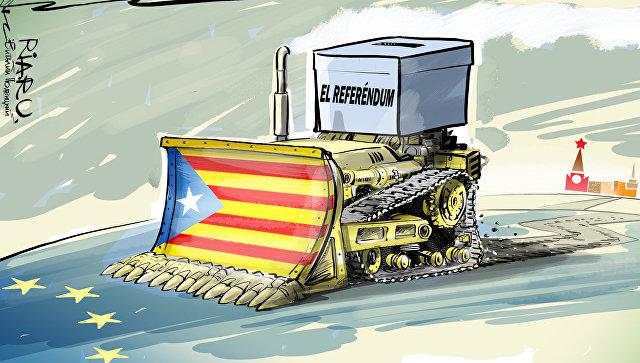 Испанию тоже мы развалили. Фельетон